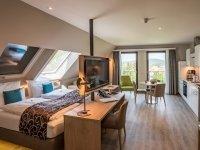 Doppelzimmer Superior mit Küche , Quelle: (c) AKZENT Hotel Villa Saxer