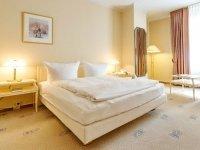 Doppelzimmer zur Einzelbelegung, Quelle: (c) Hotel Erbprinz Ludwigslust