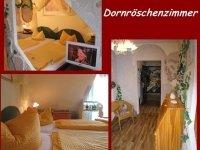Dornröschen Zimmer, Quelle: (c) Burghotel Witzenhausen