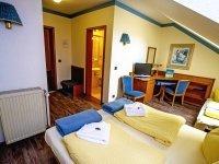 Dreibettzimmer, Quelle: (c) Hotel zur Linde