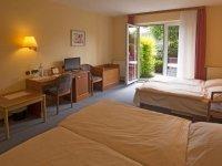 Dreibettzimmer, Quelle: (c) mD-Hotel Wittensee Schützenhof
