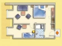Dreibettzimmer, Quelle: (c) Sonnenhotel Fürstenbauer
