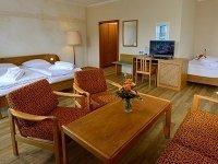 Dreibettzimmer, Quelle: (c) Michel & Friends Hotel Waldkirchen