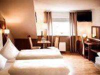 Dreibettzimmer, Quelle: (c) Hotel Ehranger Hof