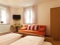 Dreibettzimmer, Quelle: (c) Hotel Landgasthof Fischer
