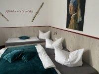 Dreibettzimmer, Quelle: (c) Gasthof-Pension Wilder Mann