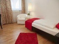 Economy Einzelzimmer, Quelle: (c) Flair Hotel Vier Jahreszeiten