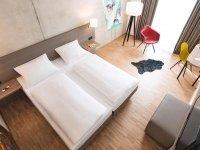 Einzelzimmer SILBER, Quelle: (c) Hotel Trezor