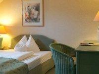 Einzelzimmer, Quelle: (c) Hotel Am Mühlenteich