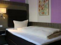 Einzelzimmer, Quelle: (c) AKZENT City Club Hotel Rheine