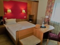 Einzelzimmer, Quelle: (c) Burg-Hotel