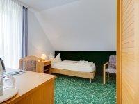 Einzelzimmer, Quelle: (c) Hotel Zwickau Mosel