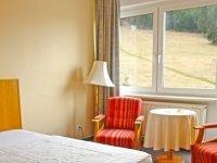 Einzelzimmer, Quelle: (c) Panorama Hotel  Oberwiesenthal