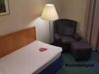 Einzelzimmer, Quelle: (c) Naturpark Hotel Weilquelle