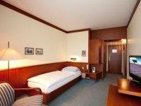 Einzelzimmer, Quelle: (c) Leine Hotel