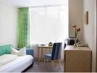 Einzelzimmer, Quelle: (c) Hotel Carpe Diem