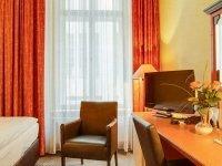 Einzelzimmer, Quelle: (c) AKZENT Hotel Am Goldenen Strauss