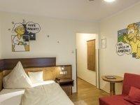 Einzelzimmer, Quelle: (c) Hotel Brunner