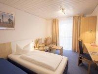 Einzelzimmer, Quelle: (c) AKZENT Hotel Alpenrose