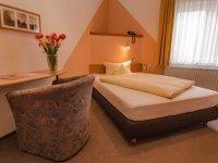 Einzelzimmer, Quelle: (c) Hotel & Ferienwohnungen Seeschlößchen