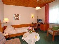 Einzelzimmer, Quelle: (c) Hotel Ursula