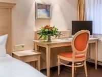 Einzelzimmer, Quelle: (c) Hotel Brusttuch