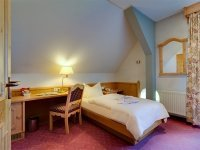 Einzelzimmer im Schloss, Quelle: (c) Hotel Schloss Nebra