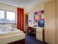 Einzelzimmer, Quelle: (c) Hotel Himmelsscheibe