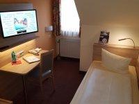 Einzelzimmer, Quelle: (c) Hotel Merian Rothenburg