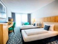 Einzelzimmer Business , Quelle: (c) ACHAT Plaza Frankfurt/Offenbach