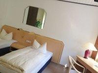 Einzelzimmer Gästehaus, Quelle: (c) AKZENT Hotel Brüggener Klimp