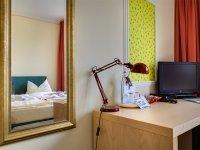 Einzelzimmer im Nebengebäude, Quelle: (c) Hotel Schloss Nebra