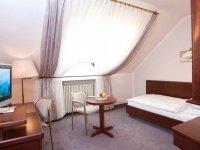 Einzelzimmer Komfort , Quelle: (c) Leine Hotel