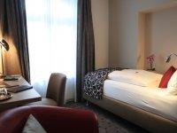 Einzelzimmer Komfort , Quelle: (c) AKZENT Hotel Villa Saxer
