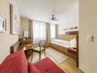 Einzelzimmer Komfort, Quelle: (c) Hotel Brunner
