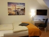 Einzelzimmer Komfort, Quelle: (c) AKZENT Hotel Strandhalle