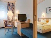 Einzelzimmer mit Badewanne, Quelle: (c) Seehotel Luisenhof