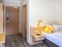 Einzelzimmer Komfort mit Balkon, Quelle: (c) Hotel Talblick