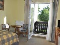 Einzelzimmer mit Balkon, Quelle: (c) SCHLOSSHOTEL MARIENBAD