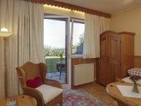 """Einzelzimmer """"Panoramablick"""" , Quelle: (c) Biolandhaus Arche"""
