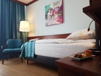 Einzelzimmer Premium, Quelle: (c) Leine Hotel