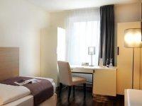 Einzelzimmer Stadtsicht, Quelle: (c) Ringhotel Goldener Knopf