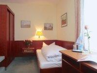 Einzelzimmer Standard, Quelle: (c) Akzent Hotel Zur grünen Eiche