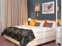 Einzelzimmer Studio , Quelle: (c) AKZENT Grunau Hotel