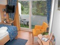 Einzelzimmer zur Landseite, Quelle: (c) Privathotels Dr. Lohbeck Seehotel Fährhaus