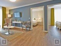 Familien Studio behindertenfreundlich, Quelle: (c) Dorint Resort Baltic Hills Usedom