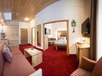 Familienzimmer, Quelle: (c) Waldhotel am Notschreipass