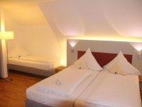 Familienzimmer mit 3 Per., Quelle: (c) AKZENT Brauerei Hotel Hirsch