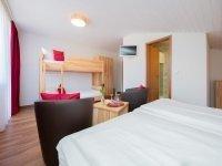 Familienzimmer / Vierbettzimmer, Quelle: (c) Hotel - Restaurant Haus Waldesruh