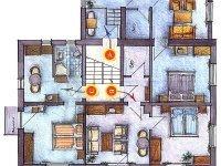 Ferienwohnung / 3 Zimmer Appartement, Quelle: (c) AKZENT Hotel Sonneneck